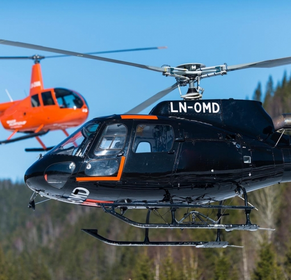 Helikoptertransport Oslo